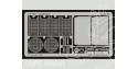 Eduard photodecoupe militaire TP081 Jagdtiger 1/35