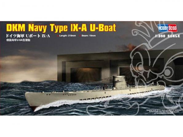HOBBY BOSS maquette bateau 83506 Type lX-A U-Boat 1/350