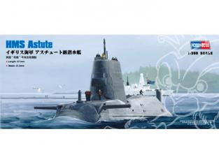 HOBBY BOSS maquette bateau 83509 HMS ASTUTE 1/350