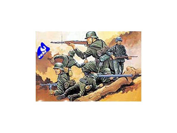 Hasegawa maquette militaire 31130 GERMAN INFANTRY ATTACK GROUP 1