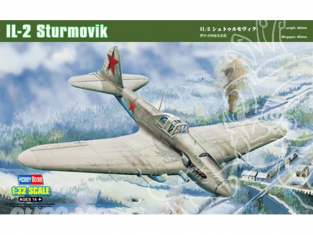 Hobby Boss maquettes avion 83201 IL-2 STURMOVIK Ground AT. 1/32