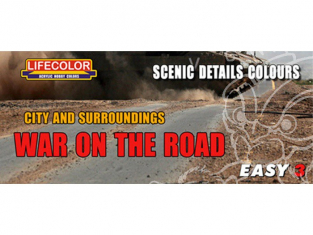 LIFECOLOR peinture MS09 Easy 3 War on the Road