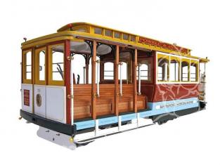 Artesania Bois 20330 Cable Cars de San Francisco Powell-Hyde et Powell-Mason 1/22