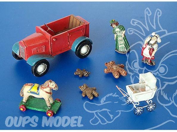 Plus Model 214 JOUETS POUR ENFANTS TOME 1 1/35