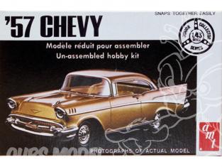 AMT maquette voiture T105 Chevy 1957 boite epoque collector 1/43