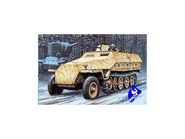 Hasegawa maquette militaire 31144 Sd. Kfz 251/1 Ausf. D 1/72