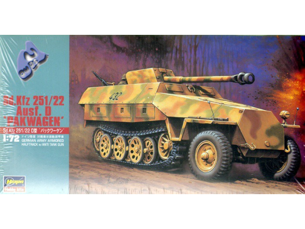 "Hasegawa maquette militaire 31145 Sd. Kfz 251/22 Ausf. D ""PAKWAG"