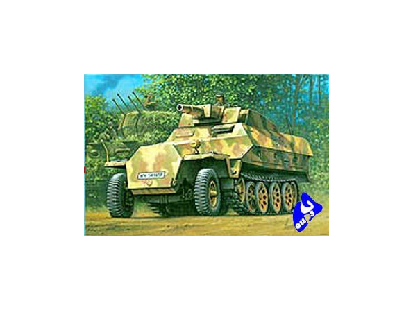 "Hasegawa maquette militaire 31146 Sd. Kfz 251/9 ""STUMMEL"" 1/72"