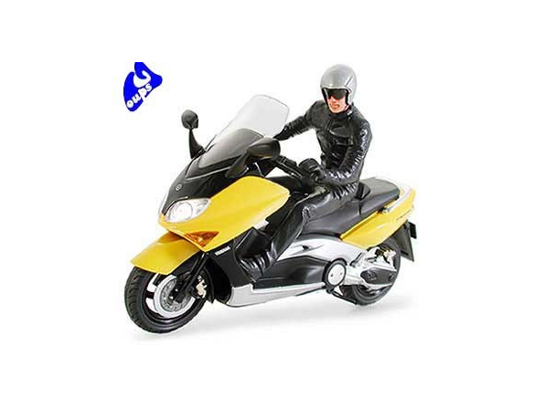 tamiya maquette voiture/moto 24256 yamaha tmax avec pilote 1/24