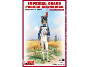 Mini art figurine 16017 Grenadier de la Garde Impériale napoléonienne 1/16