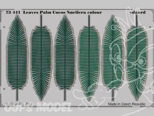 Eduard photodecoupe diorama 73441 Feuilles Palm Cocos Nucifera 1/72