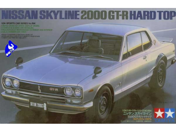 tamiya maquette voiture 24194 Nissan Skyline 1/24