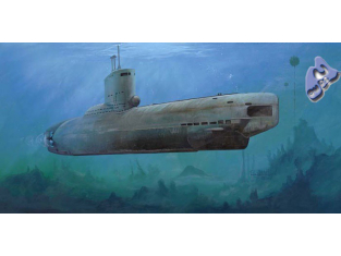 Trumpeter maquettes sous marin 05908 U-BOAT TYPE XXIII 1945 1/14