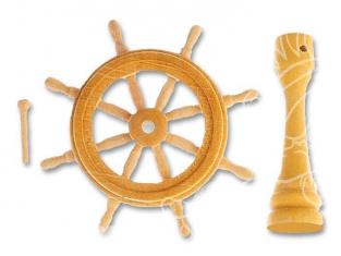 Artesania latina - Roue de gouvernail en bois  8574 - 40mm