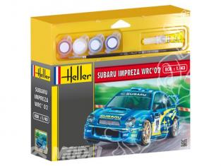 HELLER maquette voiture 50199 Subaru Imprezia WRC 2002 kit complet 1/43