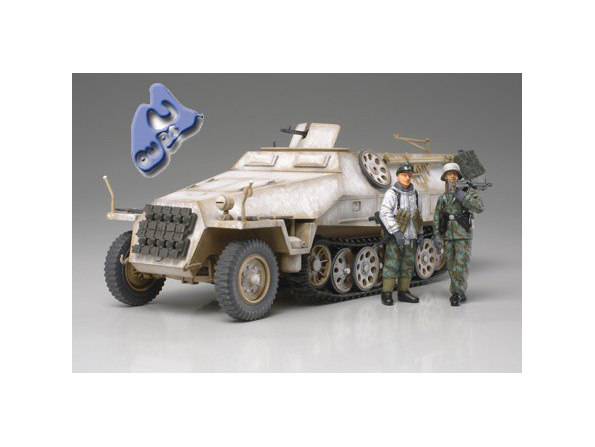 TAMIYA maquette militaire 32564 Mtl.SPW.Sd.Kfz.251/1 Ausf.D 1/48
