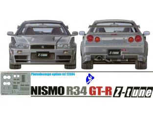 tamiya maquette voiture 24282 Nissan Skyline nismo R34 gt-r z-tune 1/24