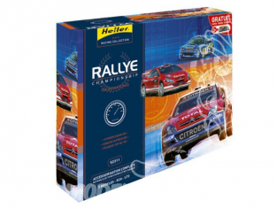 HELLER maquette voiture 52311 Rallye Championship kit complet 1/43