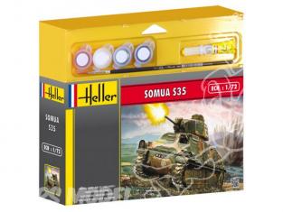 HELLER maquette militaire 49975 Somua kit complet 1/72