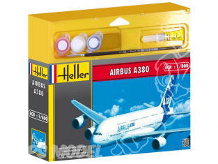 HELLER maquette avion 49075 Airbus A380 kit complet 1/800