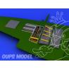 Eduard kit d&39amelioration avion brassin 648113 Gun Bay pour Spitfire 1/48