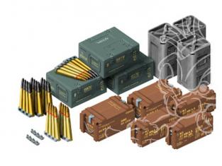 Afv Club maquette militaire 35189 SET DE MUNITIONS ET ACCESSOIRES pour BOFORS 40MM & M42 DUSTER 1/35