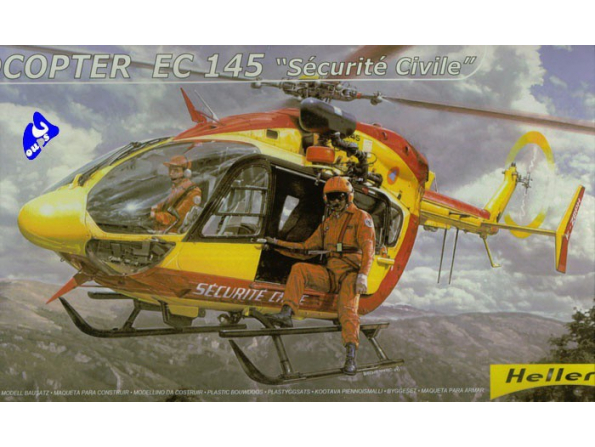 Heller maquette Avion 80375 Eurocopter EC145 1/72