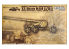 GREAT WALL HOBBY maquette militaire L3523 CANON ANTI CHARS SUPER LOURD ALLEMAND Rheinmetall 12.8cm K44 L/55 1/35
