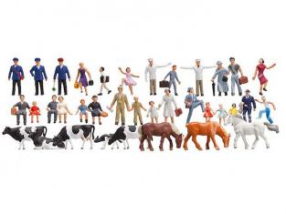 Faller 153007 Set découverte de figurines 36 pièces HO