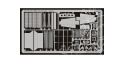 EDUARD photodecoupe avion 32165 Exterieur Bf109G-14 Hasegawa 1/32