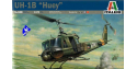 italeri maquette hélcioptére 0040 Bell UH-1B Huey 1/72