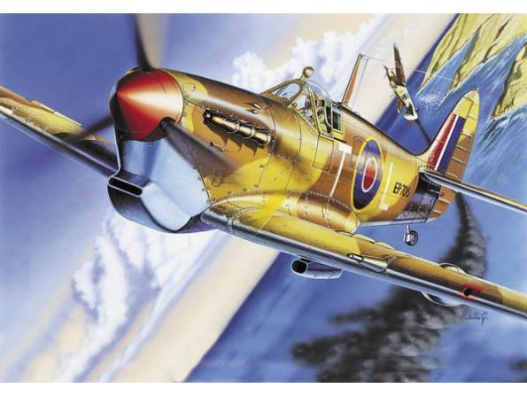 italeri maquette avion 0001 Spitfire MK. VB 1/72