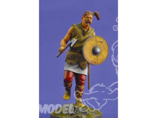 Verlinden maquette figurine historique 2464 Guerrier Celte 200mm