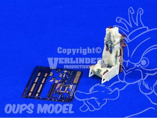 Verlinden maquette avion ¨930 Siege Ejectable Aces II 1/32