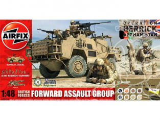 Airfix maquette coffret 50124 British Forces Forward Assault Group Gift Set 1/48