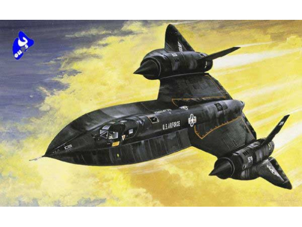 italeri maquette avion 0145 SR-71 Blackbird with Drone 1/72