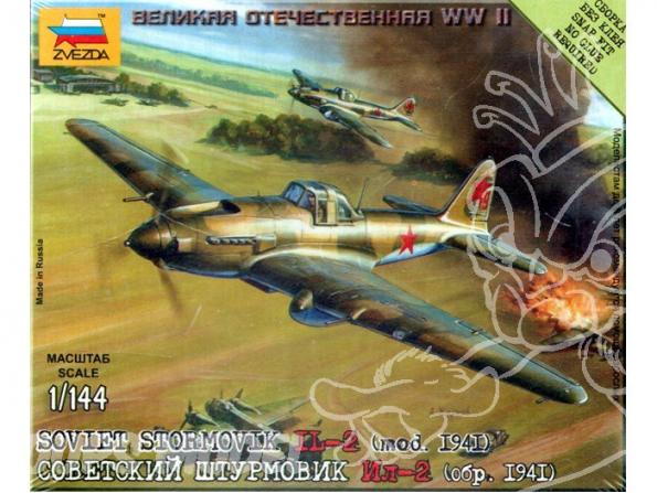 Zvezda maquette avion 6125 Iliouchine II-2 1/144