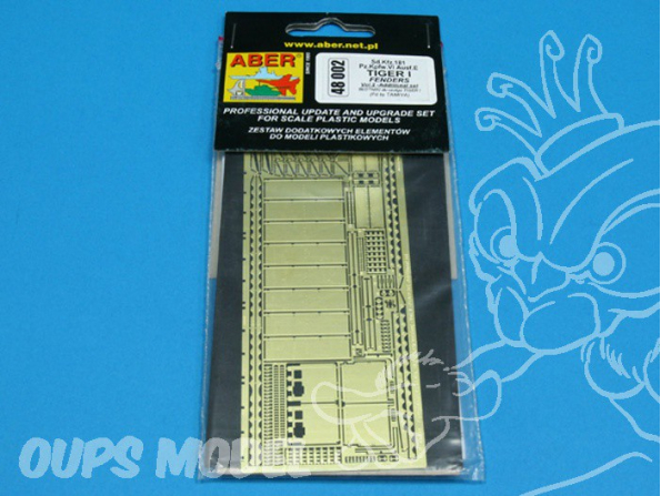 Aber 48002 Sd.Kfz.181 Pz.Kpfw.VI Ausf.E Tiger I early production - vol. 2 - additional set - ailes 1/48