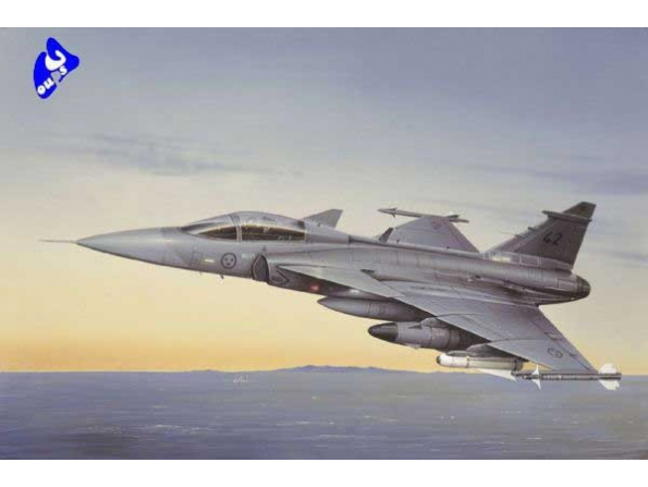 italeri maquette avion 2638 JAS 39 A Gripen 1/48