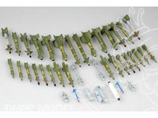 TRUMPETER maquette avion 03304 SET DE BOMBES GUIDEES POUR AVIONS US MODERNES 1/32