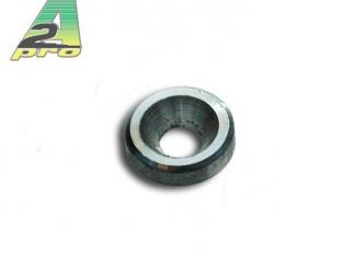 rondelles cuvette alu bleu 4mm (10 Pcs) A2PRO 301341