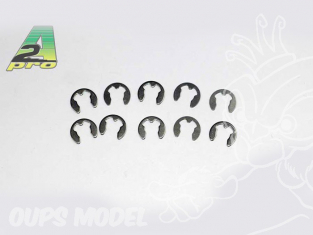 assortiment circlips inox (10 Pcs) A2PRO 304999