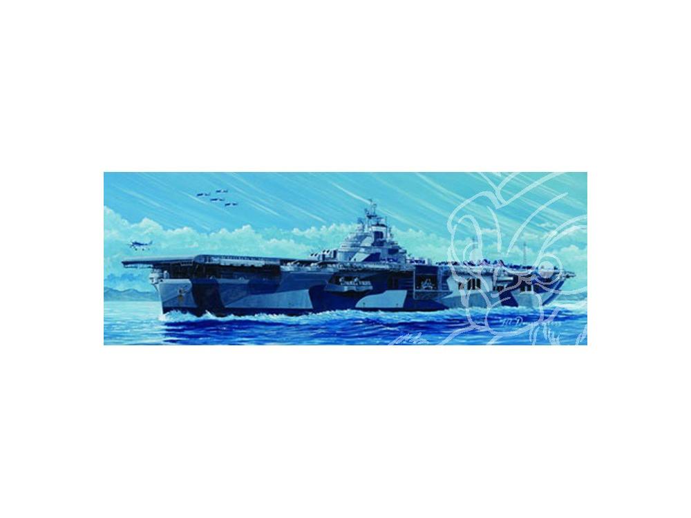 trumpeter maquette bateau 05730 uss franklin cv 700