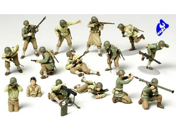 tamiya maquette militaire 32513 Infanterie US 1/48