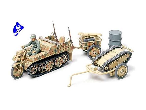 tamiya maquette militaire 32502 Kettenkraftrad 1/48