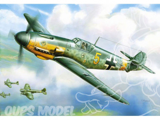 Zvezda maquette avion 6116 Messerschmitt BF109F-21/144