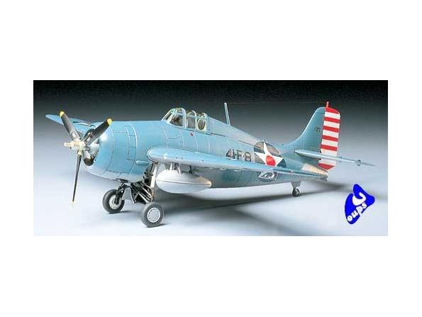 tamiya maquette avion 61034 Grumman F4F-4 Wildcat 1/48