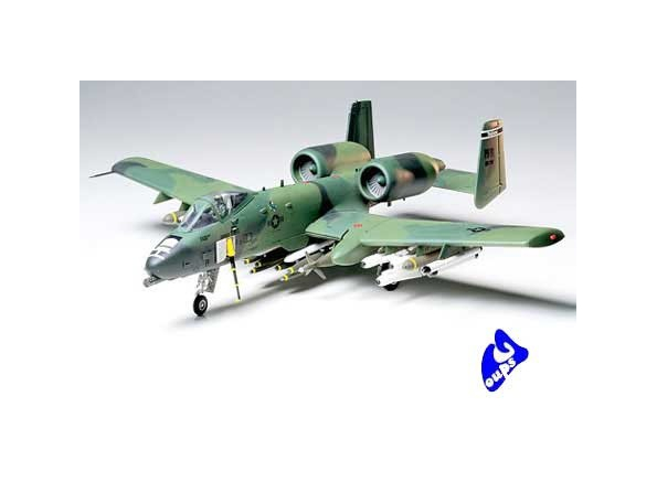 tamiya maquette avion 61028 A-10 Thunderbolt II Kit - CO128 1/48
