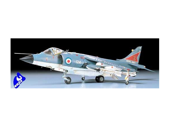 tamiya maquette avion 61026 Hawker Sea Harrier Kit 1/48