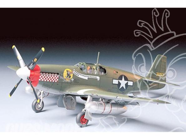tamiya maquette avion 61042 P-51B Mustang 1/48